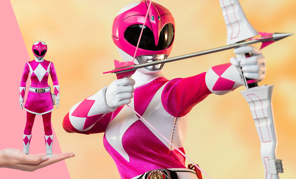 Gallery Feature Image of Pink Ranger Sixth Scale Figure - Click to open image gallery