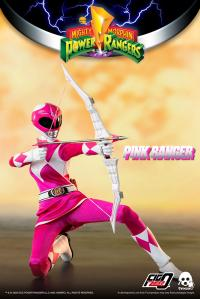Gallery Image of Pink Ranger Sixth Scale Figure