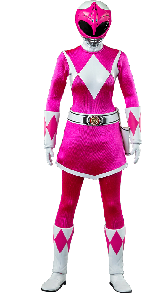 Threezero Pink Ranger Sixth Scale Figure