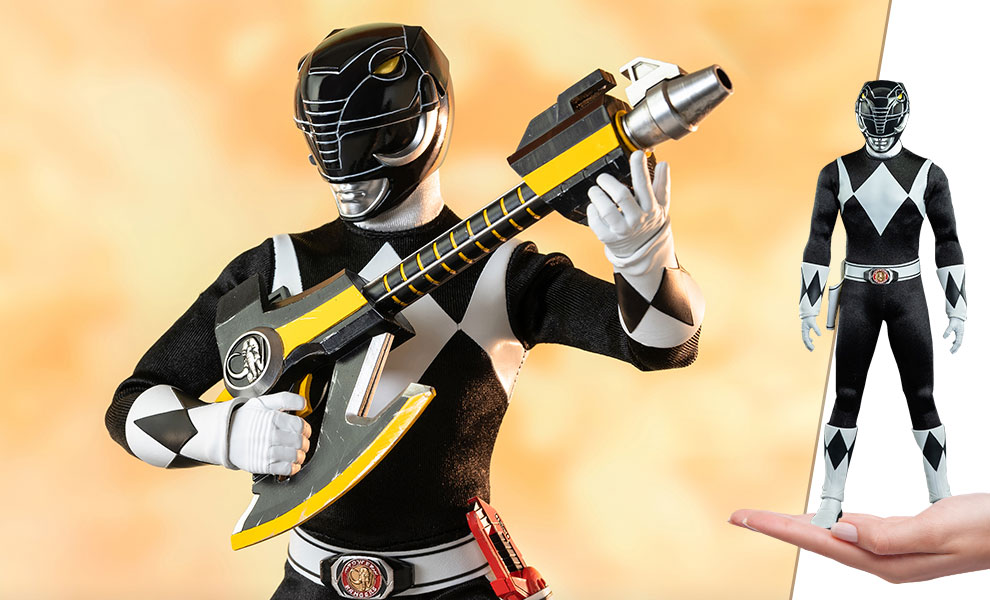 Gallery Feature Image of Black Ranger Sixth Scale Figure - Click to open image gallery