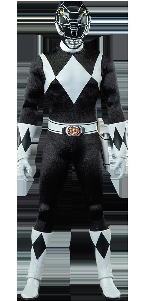 Threezero Black Ranger Sixth Scale Figure