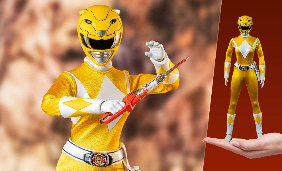 Gallery Feature Image of Yellow Ranger Sixth Scale Figure - Click to open image gallery
