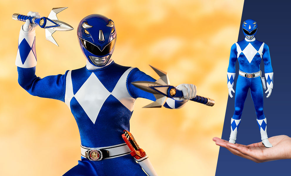 Gallery Feature Image of Blue Ranger Sixth Scale Figure - Click to open image gallery