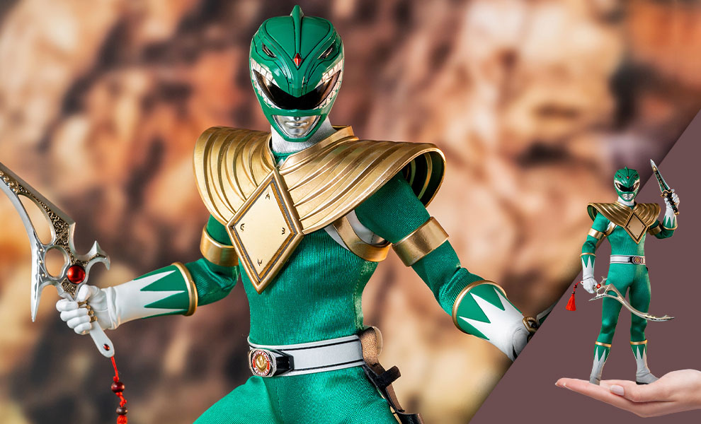 Gallery Feature Image of Green Ranger Sixth Scale Figure - Click to open image gallery