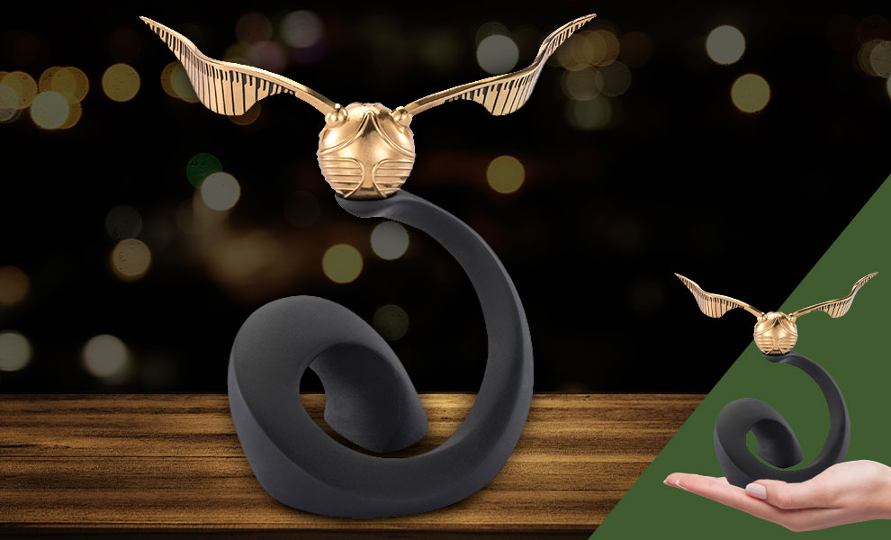 Gallery Feature Image of Golden Snitch Replica - Click to open image gallery