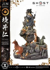 Gallery Image of Jin Sakai, The Ghost (Ghost Armor Edition) Statue