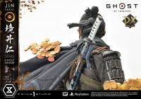 Gallery Image of Jin Sakai, The Ghost (Ghost Armor Edition Deluxe Version) Statue