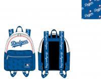 Gallery Image of LA Dodgers Baseball Seam Stitch Mini Backpack Apparel