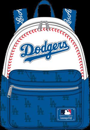 LA Dodgers Baseball Seam Stitch Mini Backpack Apparel