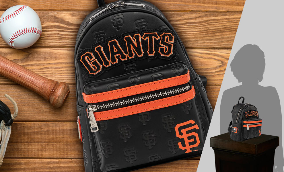 Gallery Feature Image of SF Giants Logo Mini Backpack Apparel - Click to open image gallery