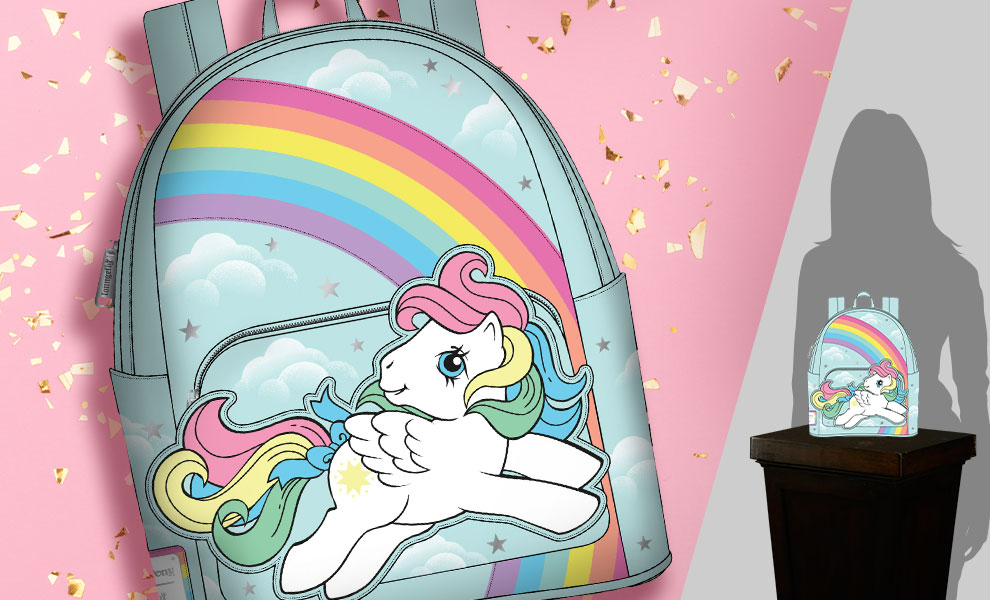 Gallery Feature Image of My Little Pony Starshine Rainbow Mini Backpack Apparel - Click to open image gallery
