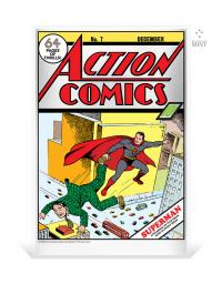 Gallery Image of Action Comics #7 Silver Foil Silver Collectible