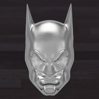 Batman 2oz Silver Coin Silver Collectible