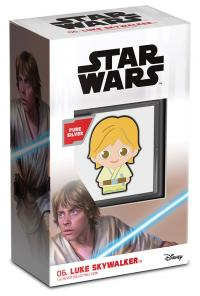 Gallery Image of Luke Skywalker 1oz Silver Coin Silver Collectible