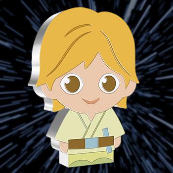 Luke Skywalker 1oz Silver Coin Silver Collectible