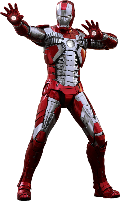 Hot Toys Iron Man Mark V Sixth Scale Figure