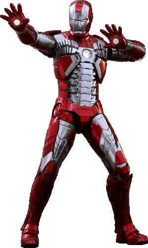 Iron Man Mark V Sixth Scale Figure