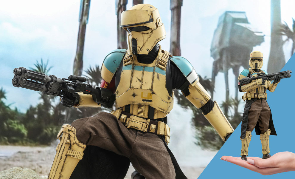 Gallery Feature Image of Shoretrooper Squad Leader™ Sixth Scale Figure - Click to open image gallery