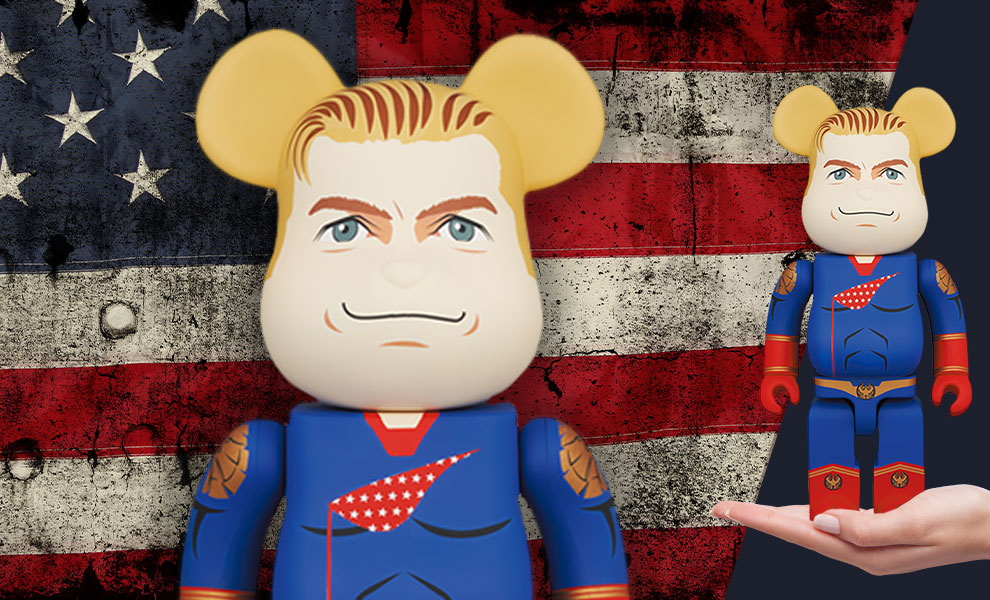 Gallery Feature Image of Be@rbrick Homelander  400% Collectible Figure - Click to open image gallery