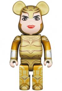 Gallery Image of Be@rbrick Wonder Woman Golden Armor 400% Collectible Figure