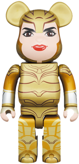 Be@rbrick Wonder Woman Golden Armor 400% Collectible Figure