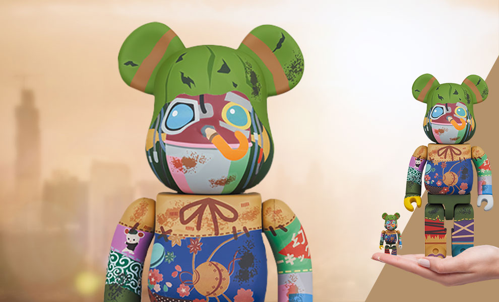 Gallery Feature Image of Be@rbrick Poupelle 100% & 400% Collectible Figure - Click to open image gallery