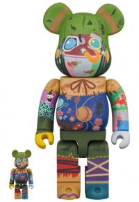 Gallery Image of Be@rbrick Poupelle 100% & 400% Collectible Figure