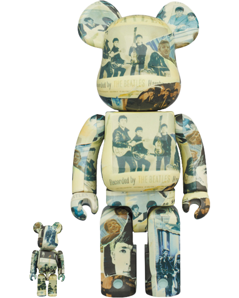 Medicom Toy Be@rbrick The Beatles 'Anthology' 100% & 400% Collectible Figure