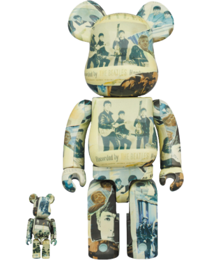 Be@rbrick The Beatles 'Anthology' 100% & 400% Collectible Figure