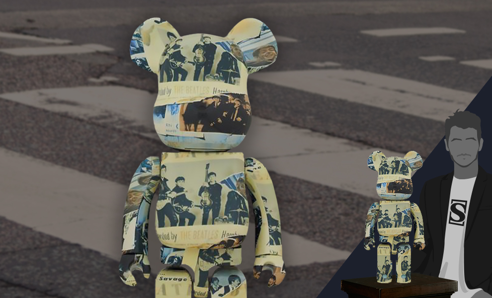Gallery Feature Image of Be@rbrick The Beatles 'Anthology' 1000% Collectible Figure - Click to open image gallery