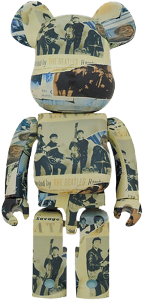 Medicom Toy Be@rbrick The Beatles 'Anthology' 1000% Collectible Figure