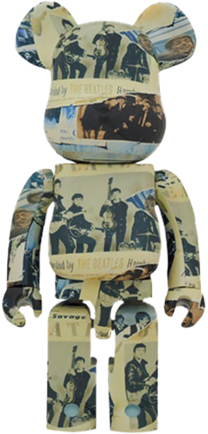Be@rbrick The Beatles 'Anthology' 1000% Collectible Figure