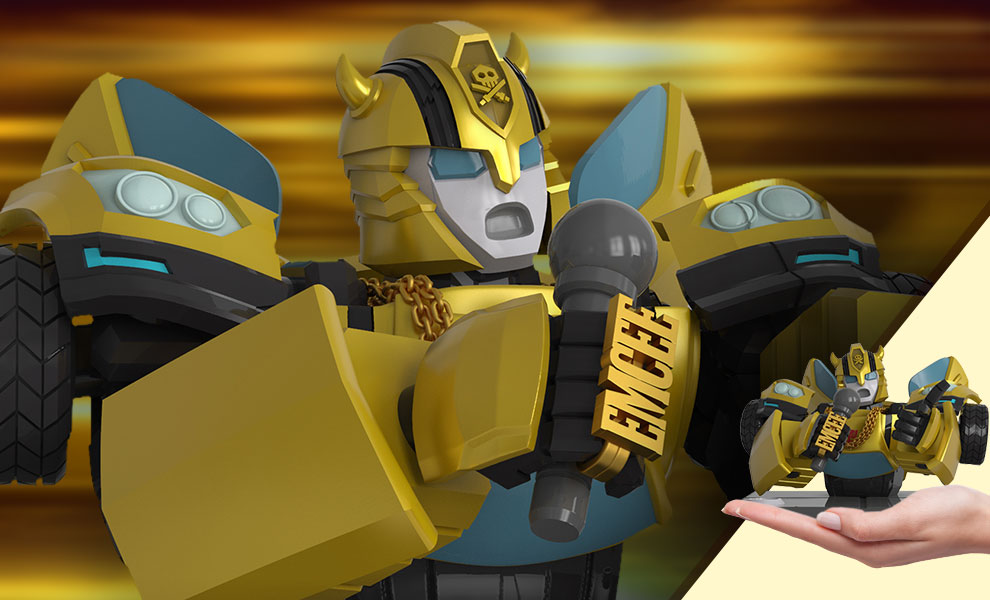 Gallery Feature Image of Transformers x Quiccs: Bumblebee Bust - Click to open image gallery