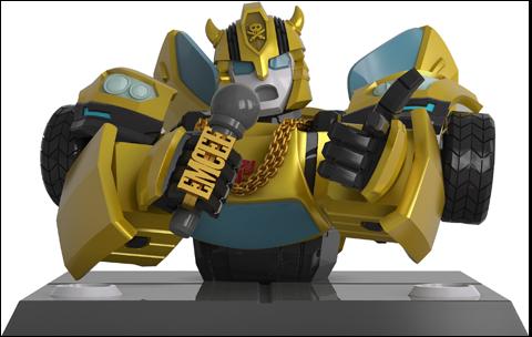 Mighty Jaxx Transformers x Quiccs: Bumblebee Bust