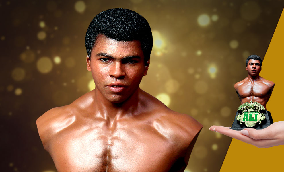 Gallery Feature Image of Muhammad Ali Bust - Click to open image gallery