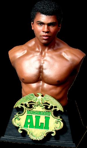 Muhammad Ali Bust