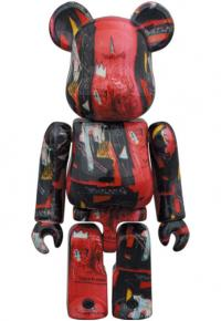 Gallery Image of Be@rbrick Andy Warhol X Jean Michel Basquiat #1 100% & 400% Collectible Set