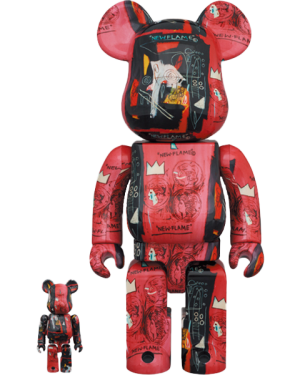 Be@rbrick Andy Warhol X Jean Michel Basquiat #1 100% & 400% Collectible Set