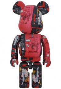 Gallery Image of Be@rbrick Andy Warhol X Jean Michel Basquiat #1 1000% Bearbrick