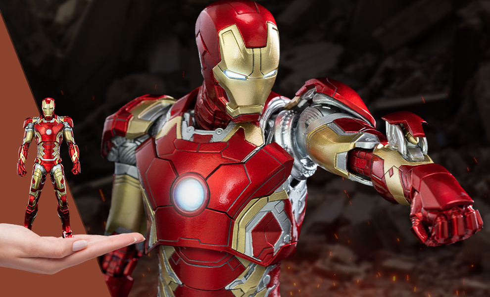 Gallery Feature Image of Iron Man Mark XLIII Collectible Figure - Click to open image gallery
