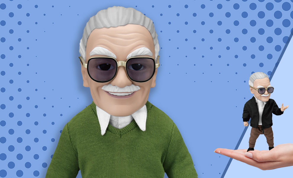 Gallery Feature Image of Stan Lee Action Figure - Click to open image gallery