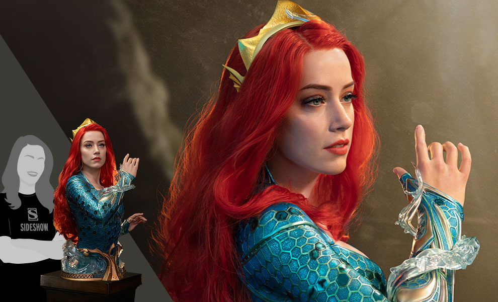 Gallery Feature Image of Mera Life-Size Bust - Click to open image gallery