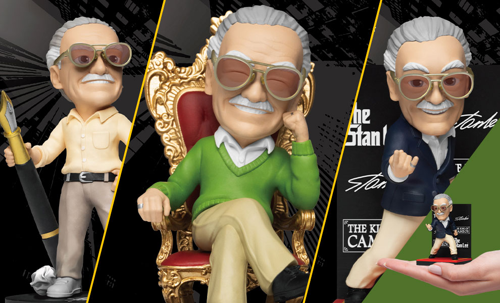 Gallery Feature Image of Stan Lee Series Set Collectible Set - Click to open image gallery
