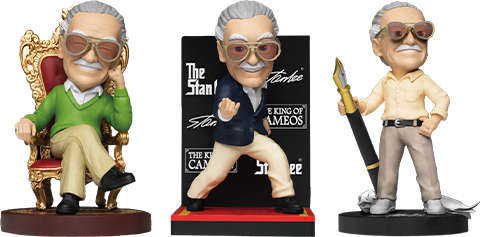 Beast Kingdom Stan Lee Series Set Collectible Set