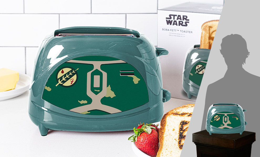 Gallery Feature Image of Boba Fett Two-Slice Toaster Kitchenware - Click to open image gallery