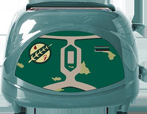 Uncanny Brands, LLC Boba Fett Two-Slice Toaster Kitchenware