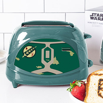 Boba Fett Two-Slice Toaster Kitchenware