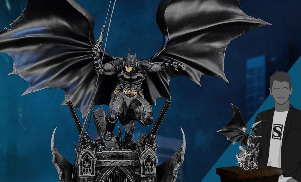 Gallery Feature Image of Batman Arkham Knight Polystone Statue - Click to open image gallery