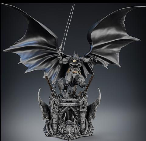 Silver Fox Collectibles Batman Arkham Knight Polystone Statue