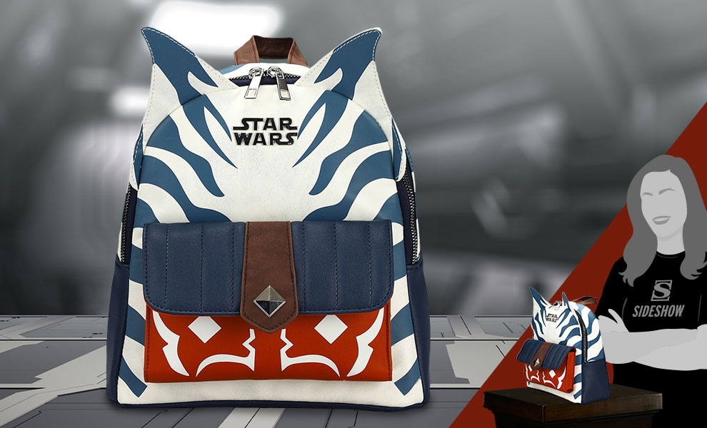 Gallery Feature Image of Ahsoka Tano Cosplay Mini Backpack Apparel - Click to open image gallery